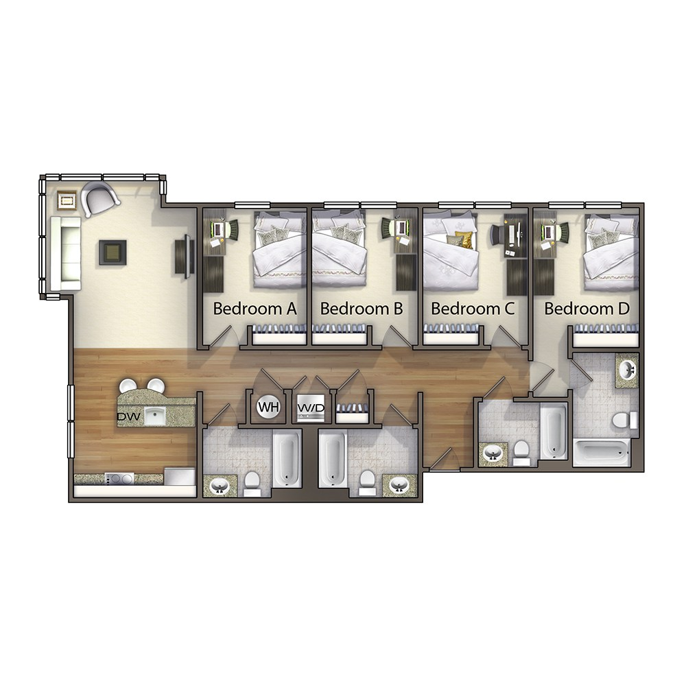 4 Bedroom - The Henderson